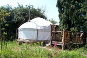 Yurt in Alde Garden