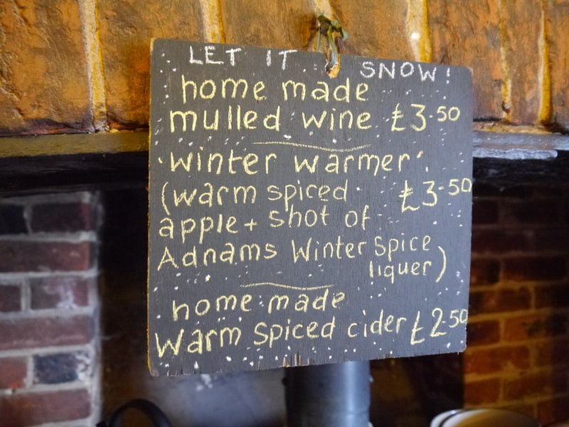 our range of winter specials
