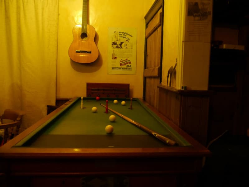 bar billiards table