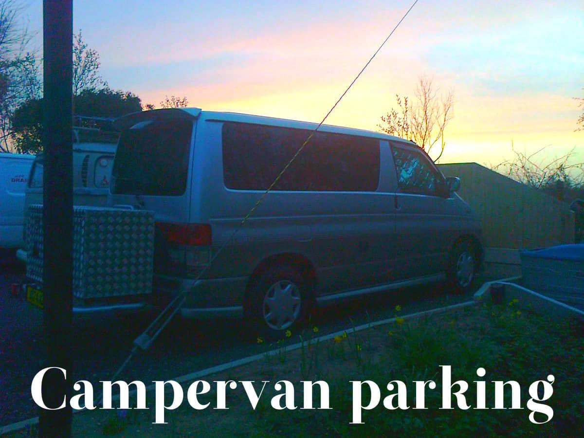 Campervan parking
